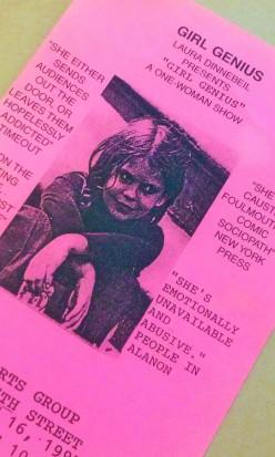 Pink Flyer Genius